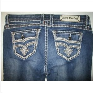 Rock Revival Ciel Easy Capri Jeans Tag Size 30